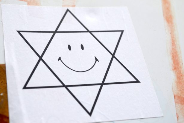 Happy Face Star of David