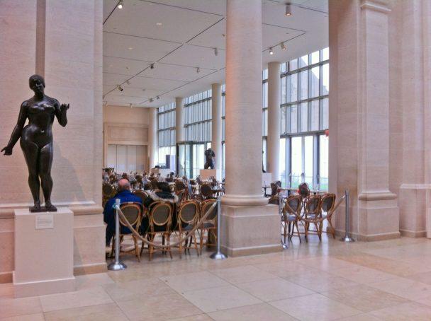Petrie Restaurant in the Metropolitan Museum of Art