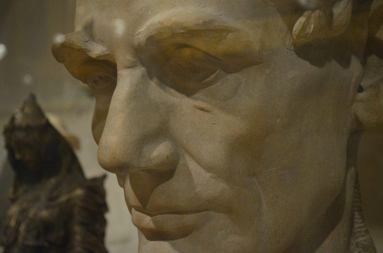 Abraham Lincoln Side Profile at The Metropolitian Museum of Art