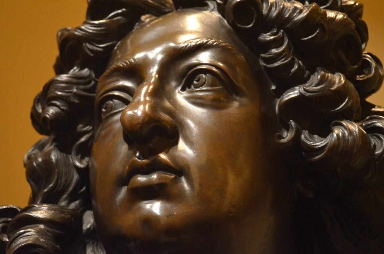 Metal Sculpture at The Met