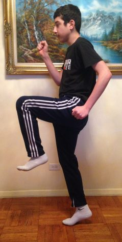 High-knee Jumps