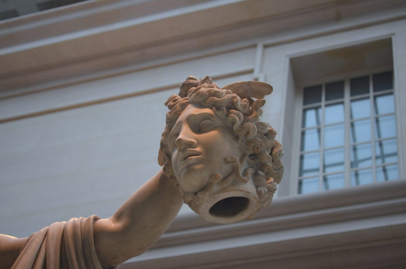 Severed Head at The Metropolitan Museum of Art