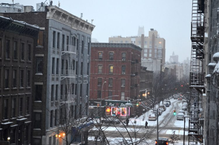 Winter in Central Harlem