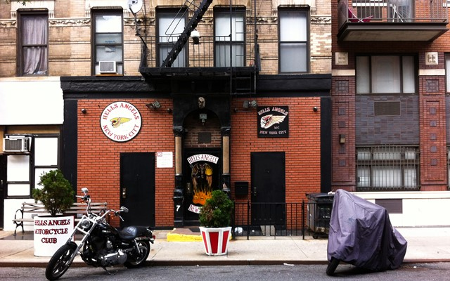 Hells Angels in the East Village