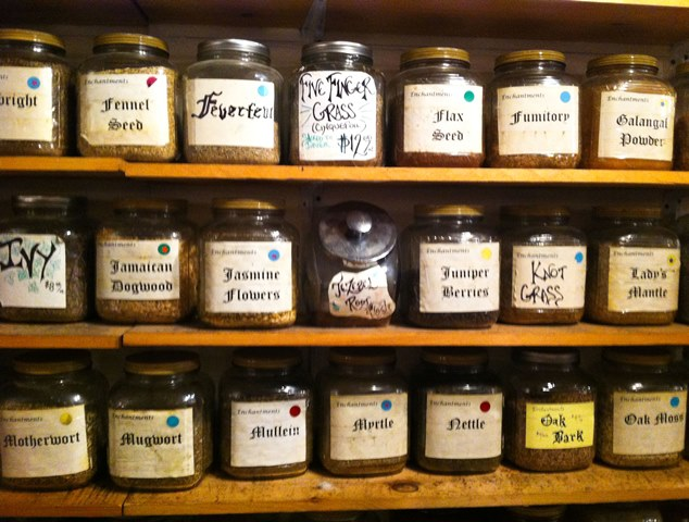 Herbs in Enchantments East Village New York City