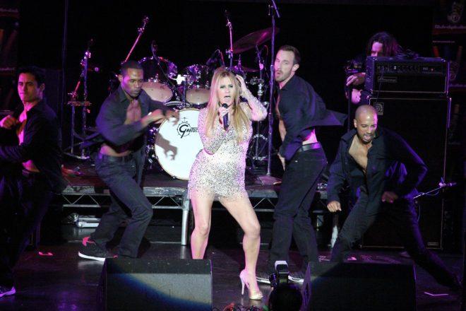 Lisa Panagos Performing Live