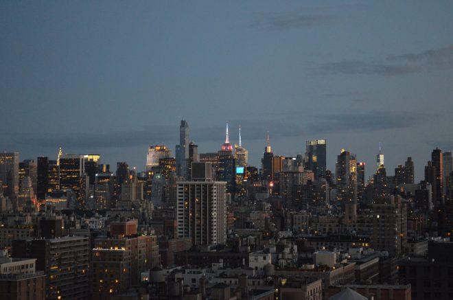 Evening Sky Manhattan