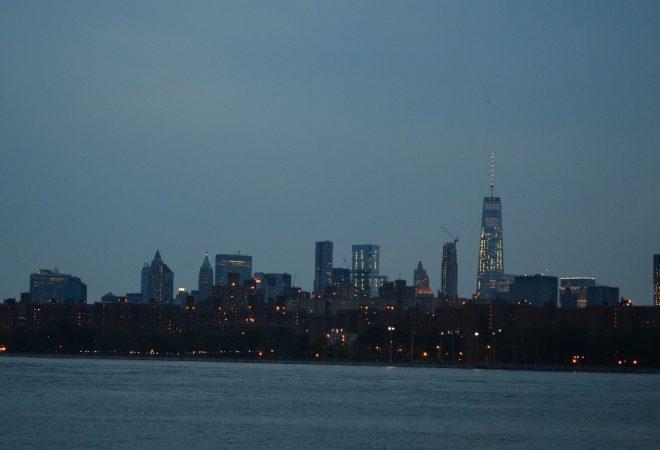 World Trade Center Across the East River in Lower Manhattan