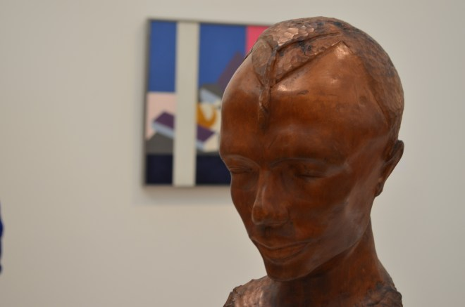 Bust at the Whitney