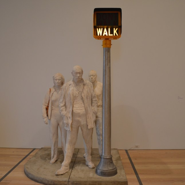 Walk Sculpture at the Whitney