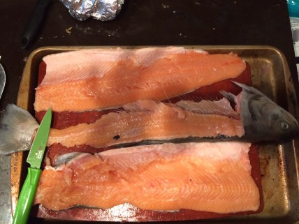 Preparing Arctic Char