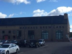 Bauhaus Brew Lab's large facility