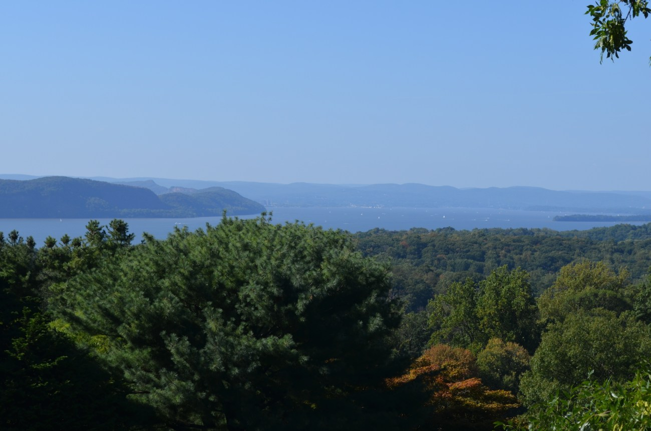 Hudson River and Hudson Valley View from the Rockefeller Estate