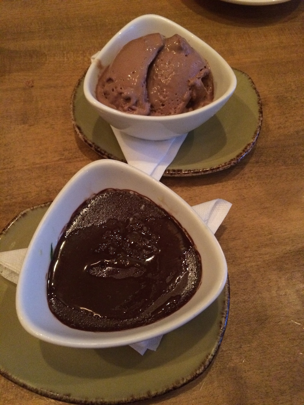 Chocolate Gelato and Dessert