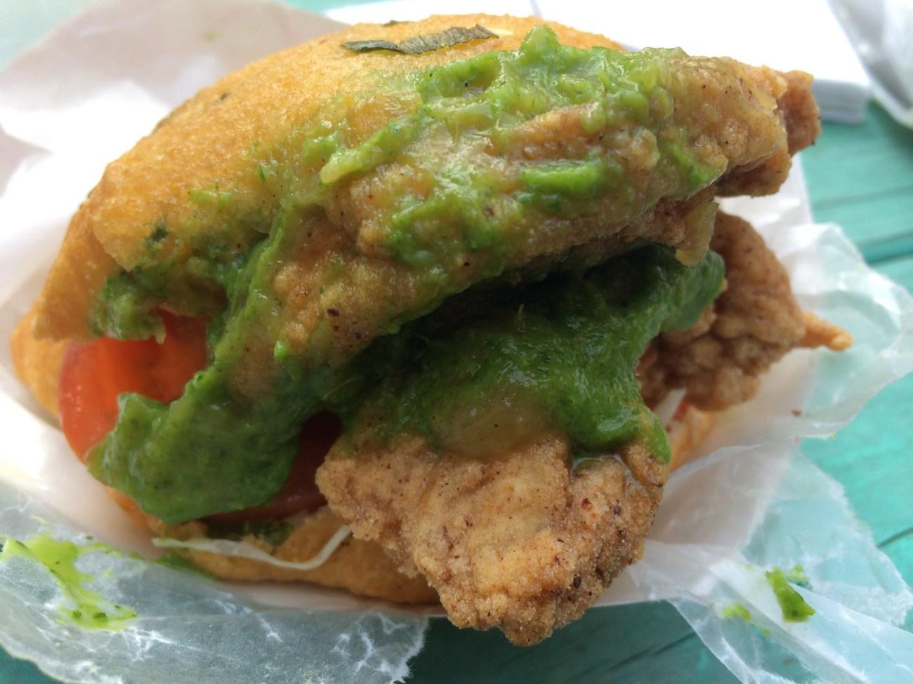 Dogfish Shark Sandwich