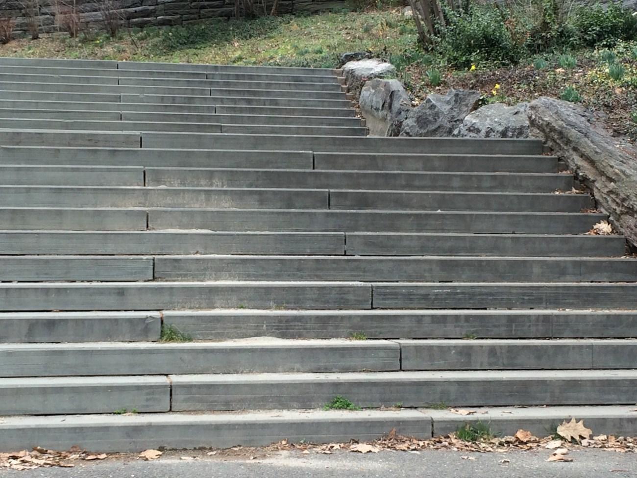 Morningside Park Stair Workout 16