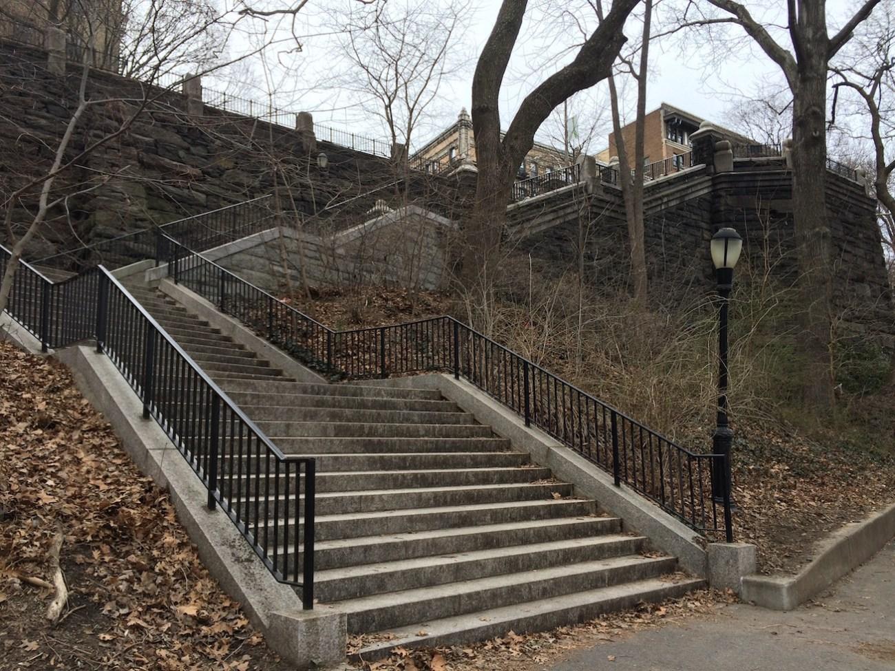 Morningside Park Stair Workout 21