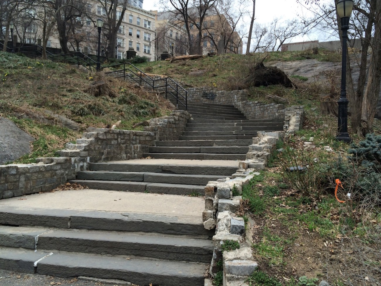 Morningside Park Stair Workout 4