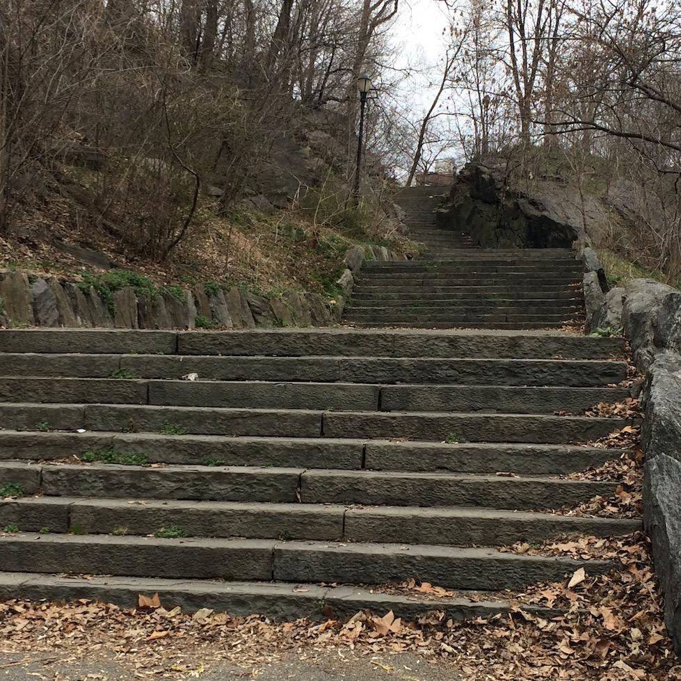 Morningside Park Stair Workout 7