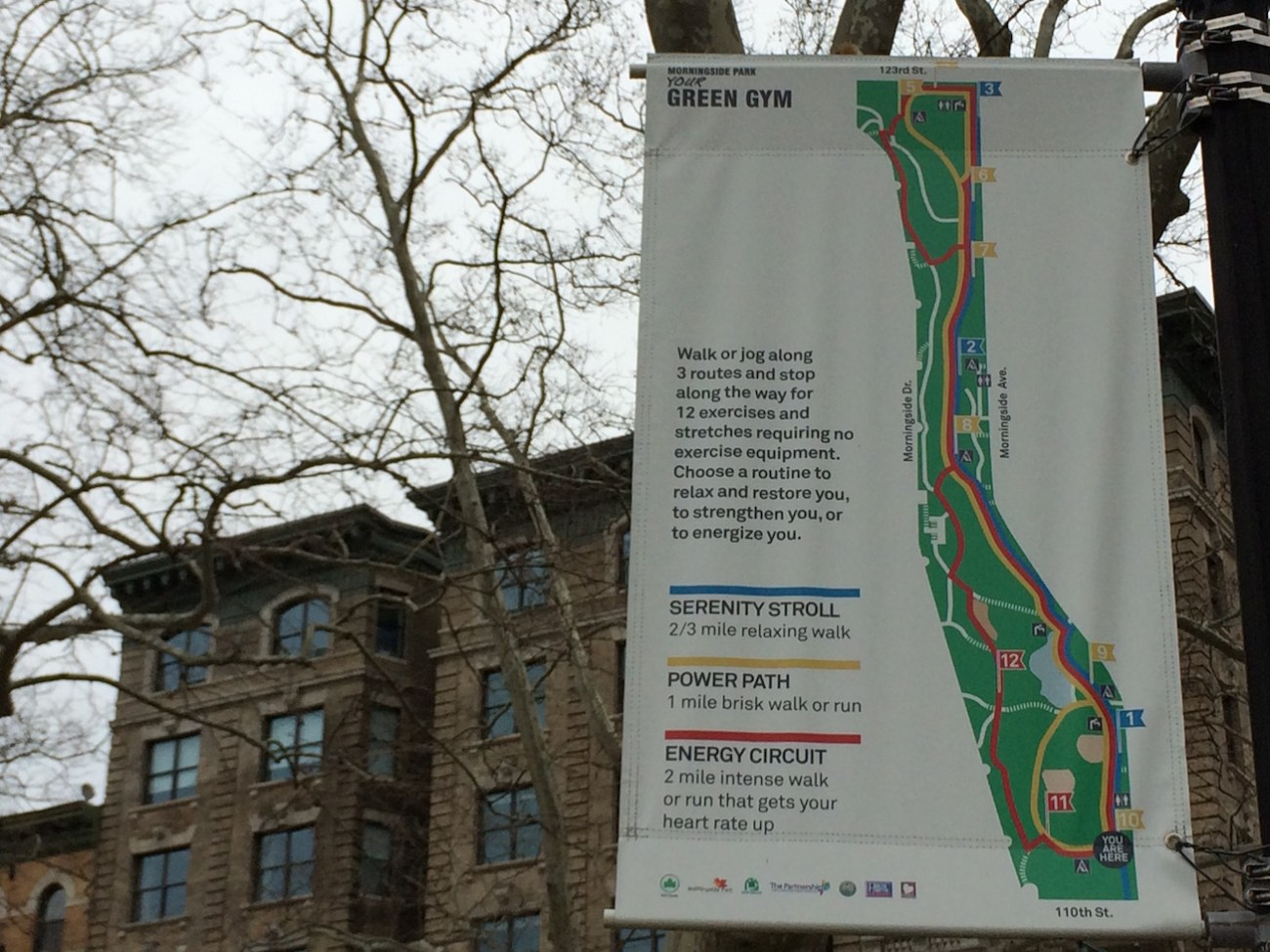 Morningside Park Your Green Gym Running Paths