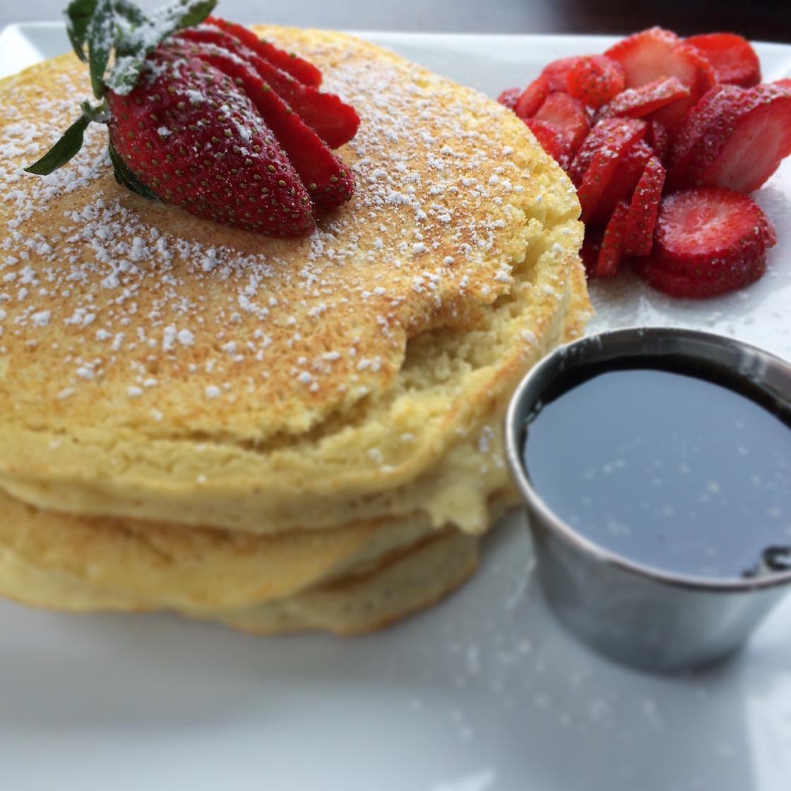 Pancakes at Astor Cafe in Harlem