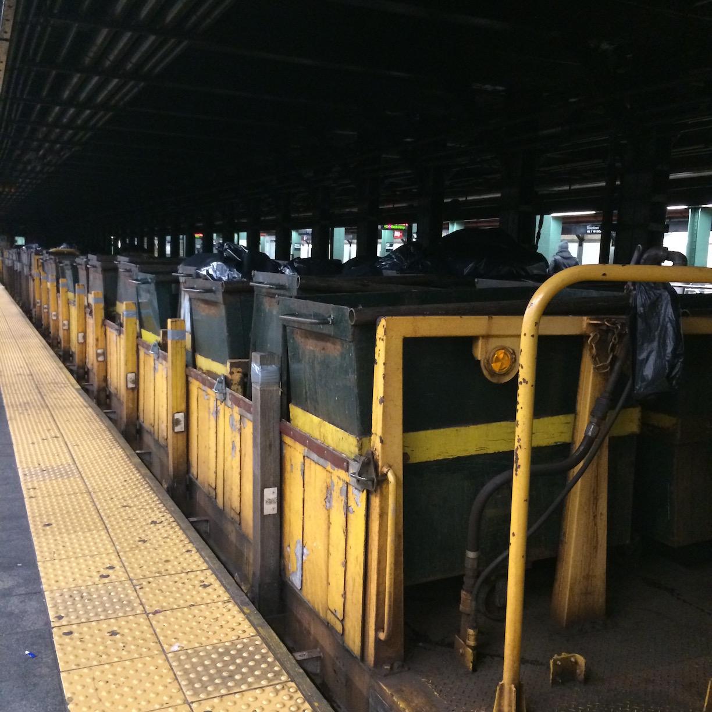 Subway Dumpster Train