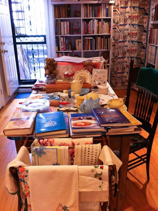 Bonnie Slotnick Cookbooks in the East Village