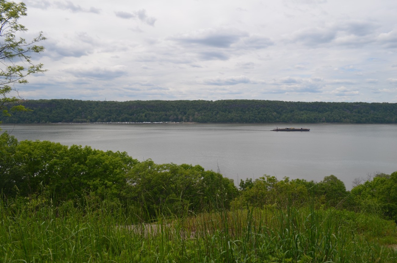 View of Hudson River from Inwood Hill Park