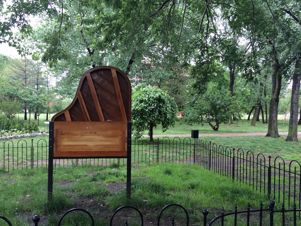 Piano Art at Socrates Sculpture Garden