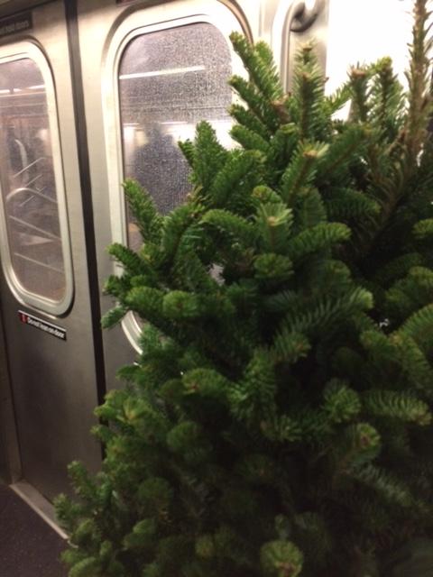 christmas-tree-on-a-subway