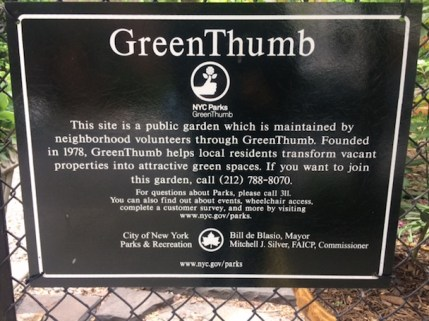 NYC Parks GreenThumb