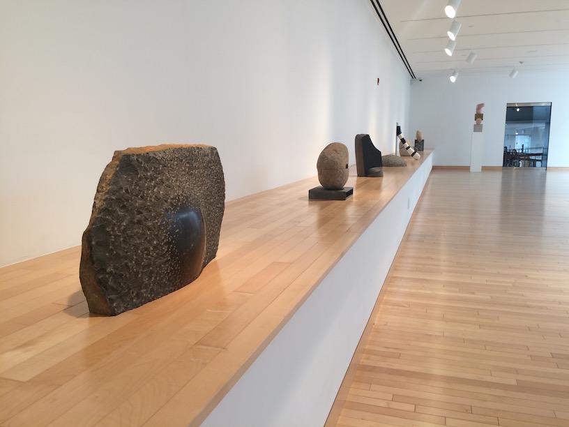 Sculptures at Noguchi Museum in Queens