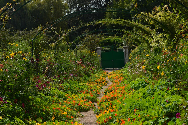 Claude Monet Garden in Giverny