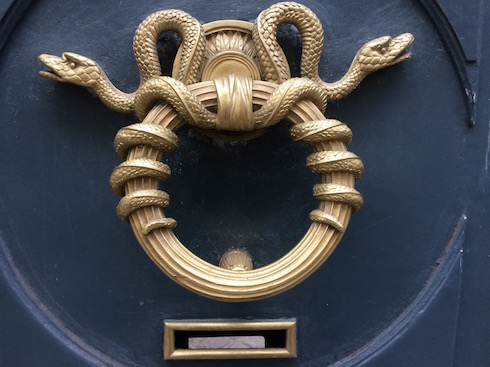 Door Knocker in Paris