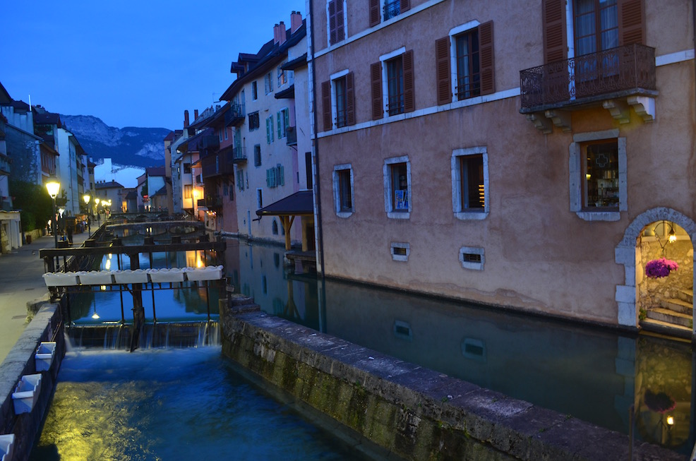 Downtown Annecy in France