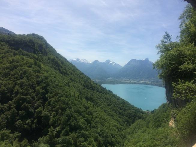 Hiking in Lake Annecy