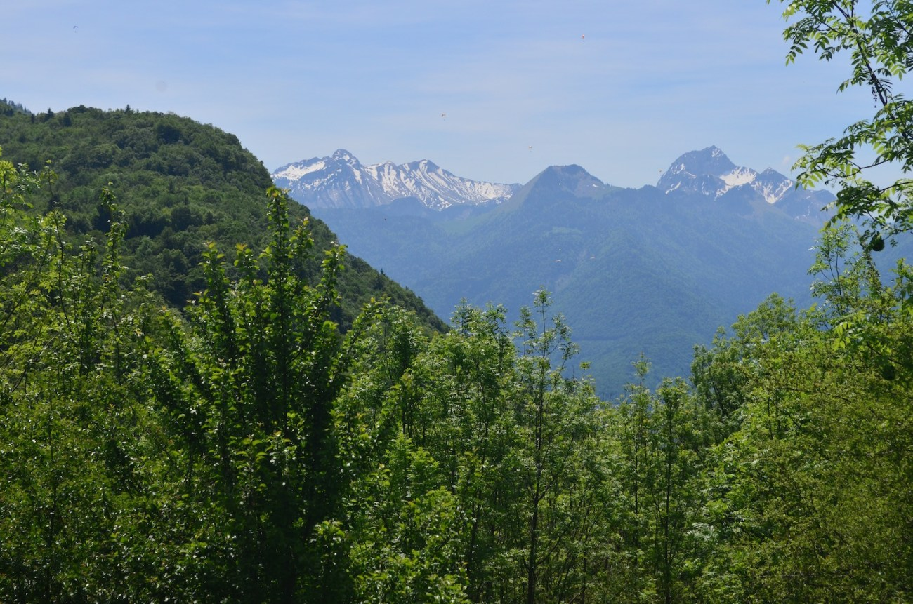 Mountains Surrounding Lake Annecy