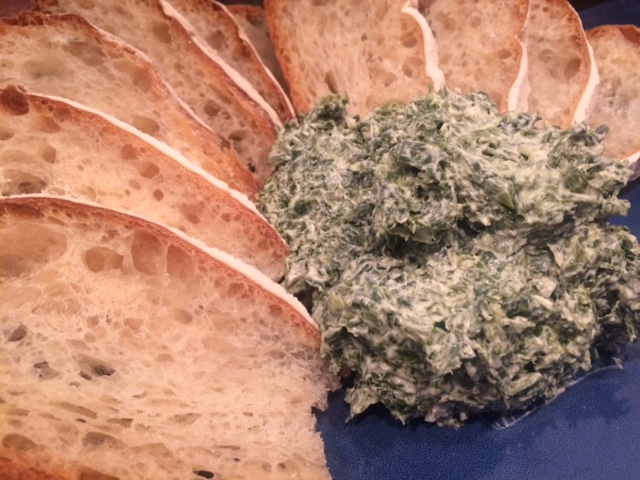 Spinach Dip with Lambs Quarters