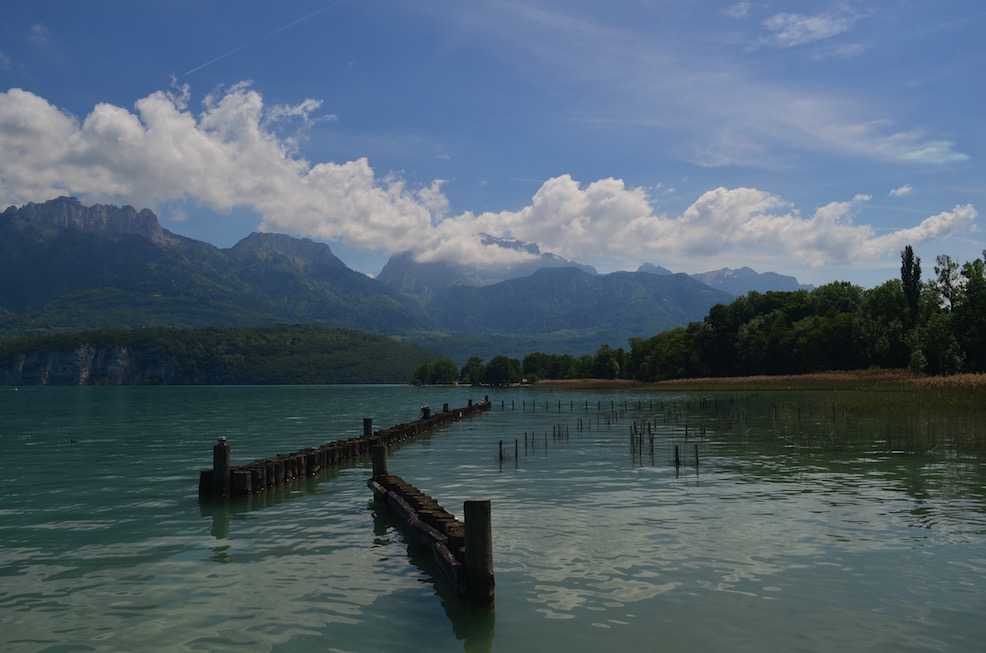 Sunny Day in Lake Annecy
