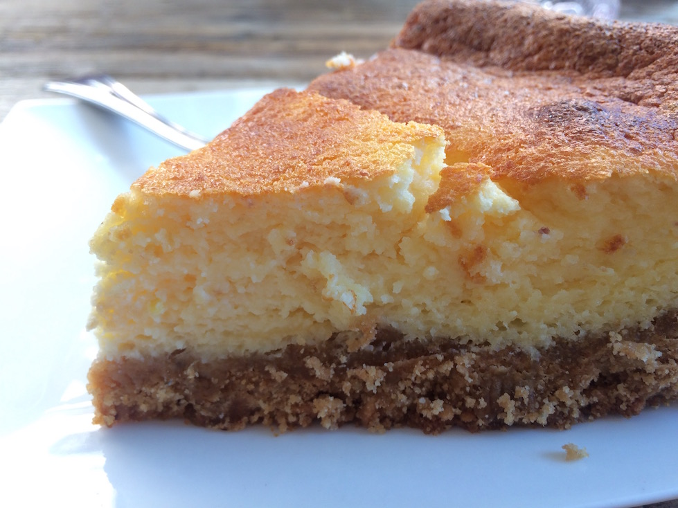 Lemon Ricotta Cake in Southern Italy
