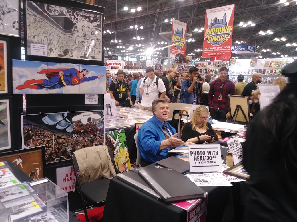 Neal Adams at the New York Comic Con