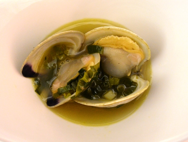 Ramps Little Neck Clams and Beer