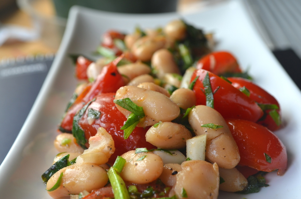 Spring Ramp and Cannellini Bean Salad