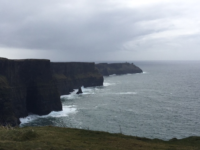 Looking South at Cliffs of Moher