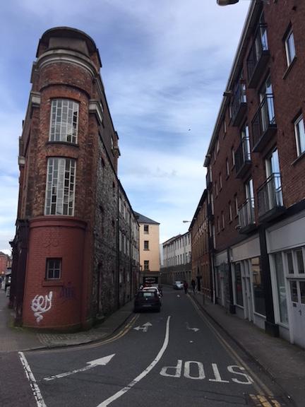 Narrow Building in Cork Ireland