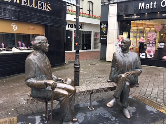 Oscar Wilde Statue in Galway