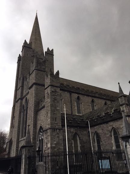 St. Patricks Church in Dublin Ireland