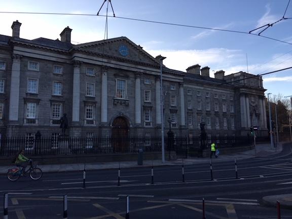 Trinity College in Dublin Ireland