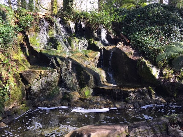 Waterfall at Blarney Castle