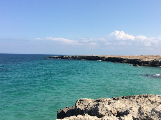 Adriatic Sea in Italy